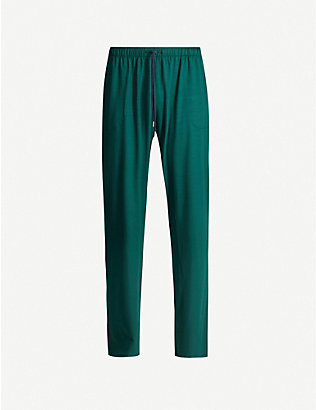 DEREK ROSE: Basel stretch-jersey casual trousers