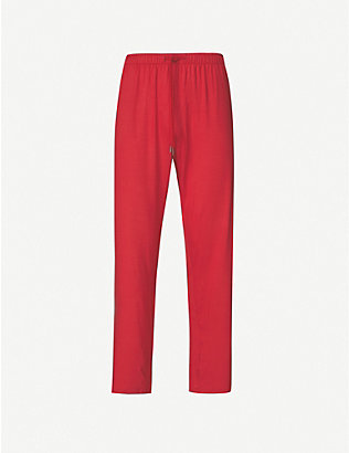 DEREK ROSE: Basel drawstring-waist stretch-modal trousers
