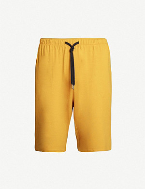 DEREK ROSE Basel stretch-modal lounge shorts