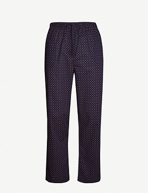 DEREK ROSE Nelson 72 cotton pyjama trousers
