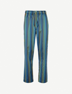 DEREK ROSE Wellington cotton pyjama bottoms