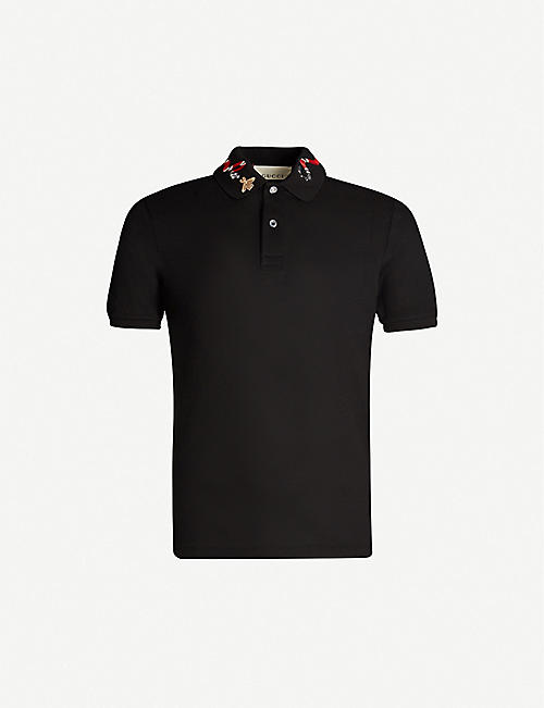 b54b3ef23 Gucci T-shirts - Polo Shirts & Sweatshirts | Selfridges