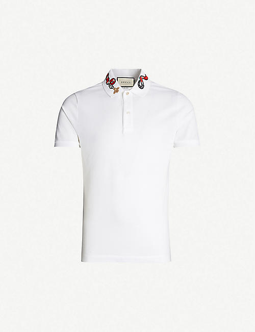 c7f559123 Gucci T-shirts - Polo Shirts & Sweatshirts | Selfridges
