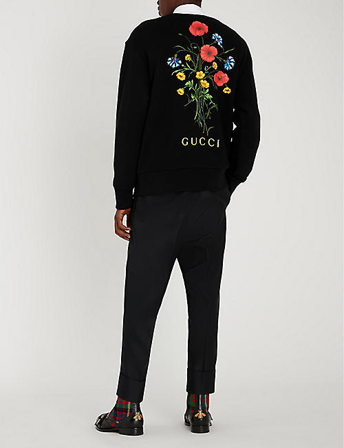 GUCCI Chateau Marmont cotton-jersey T-shirt