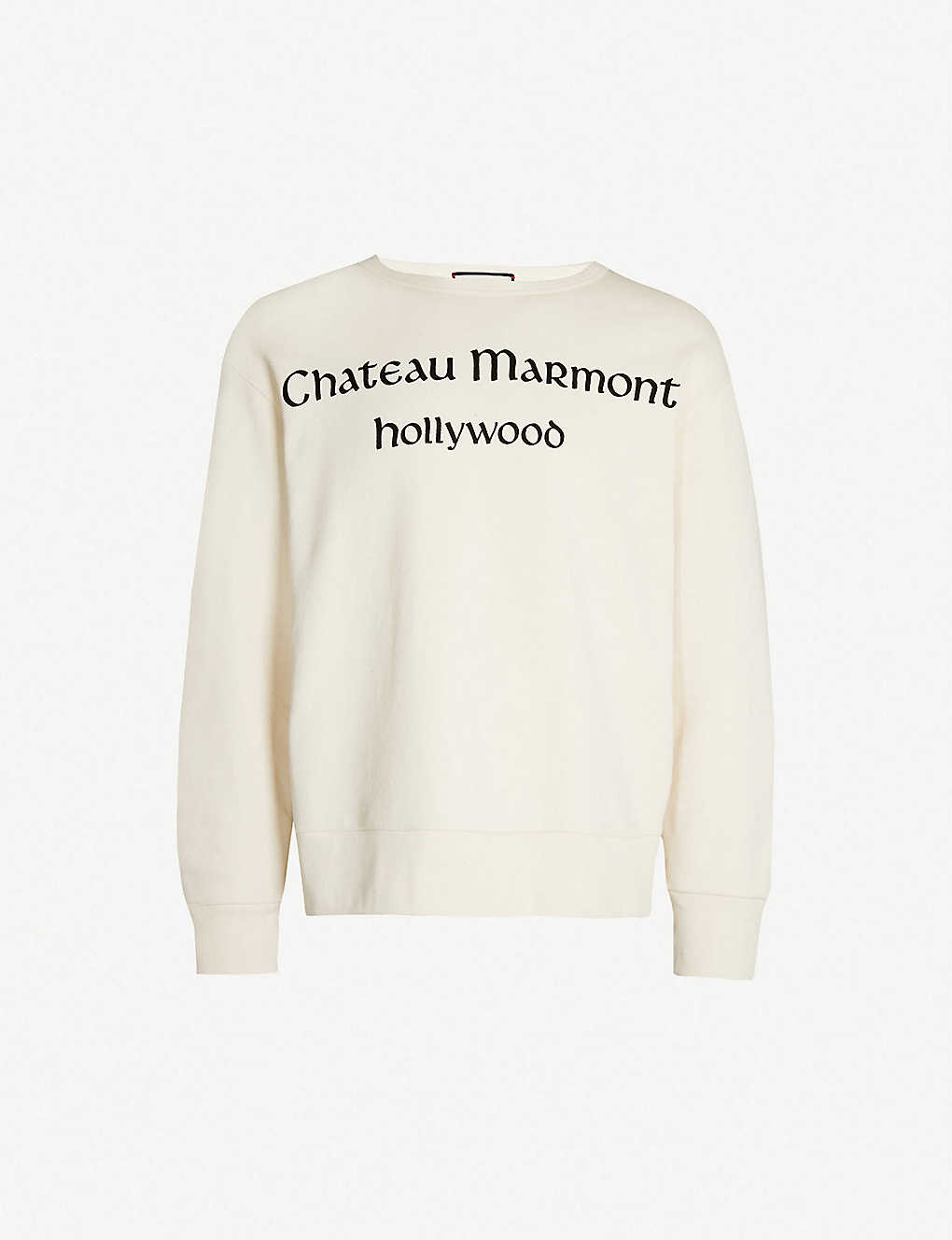 d156712a20fc Chateau Marmont printed cotton-jersey sweatshirt - Cream ...