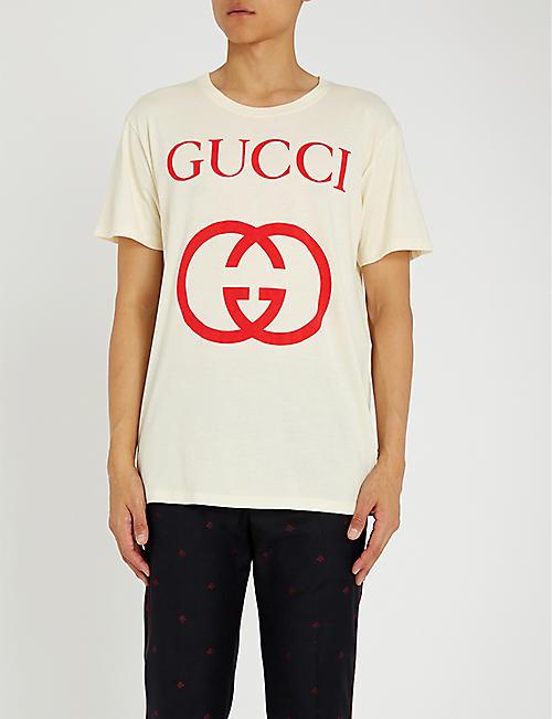 8af479714950 GUCCI - Tops & t-shirts - Clothing - Mens - Selfridges | Shop Online