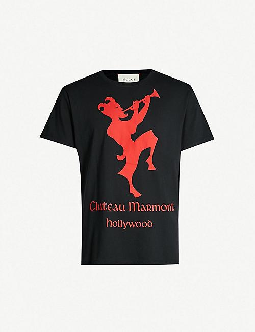 387cc41a7af GUCCI Chateau Marmont-print cotton-jersey T-shirt. Quick view Wish list