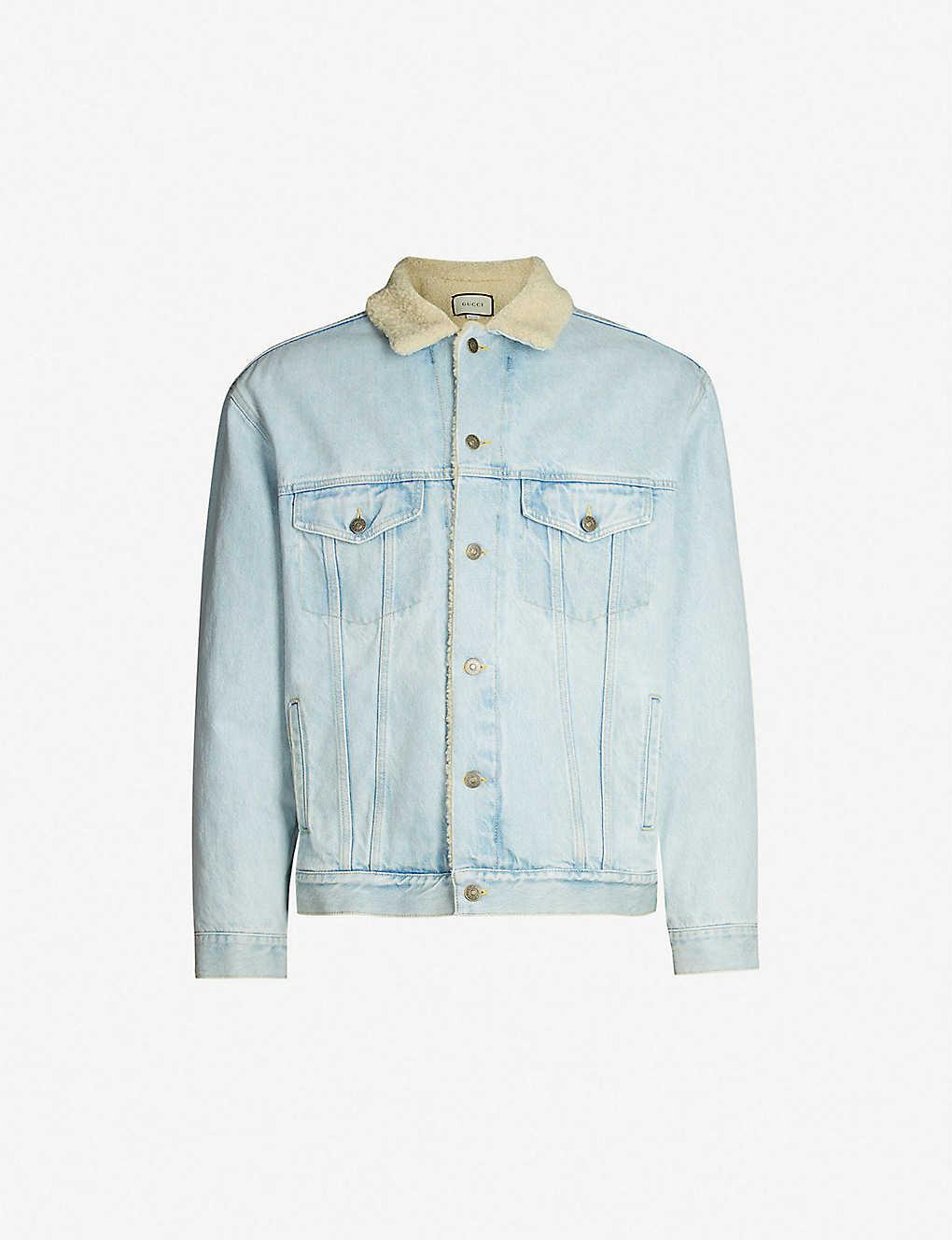 ec47beb1e GUCCI - Paramount patch denim jacket | Selfridges.com