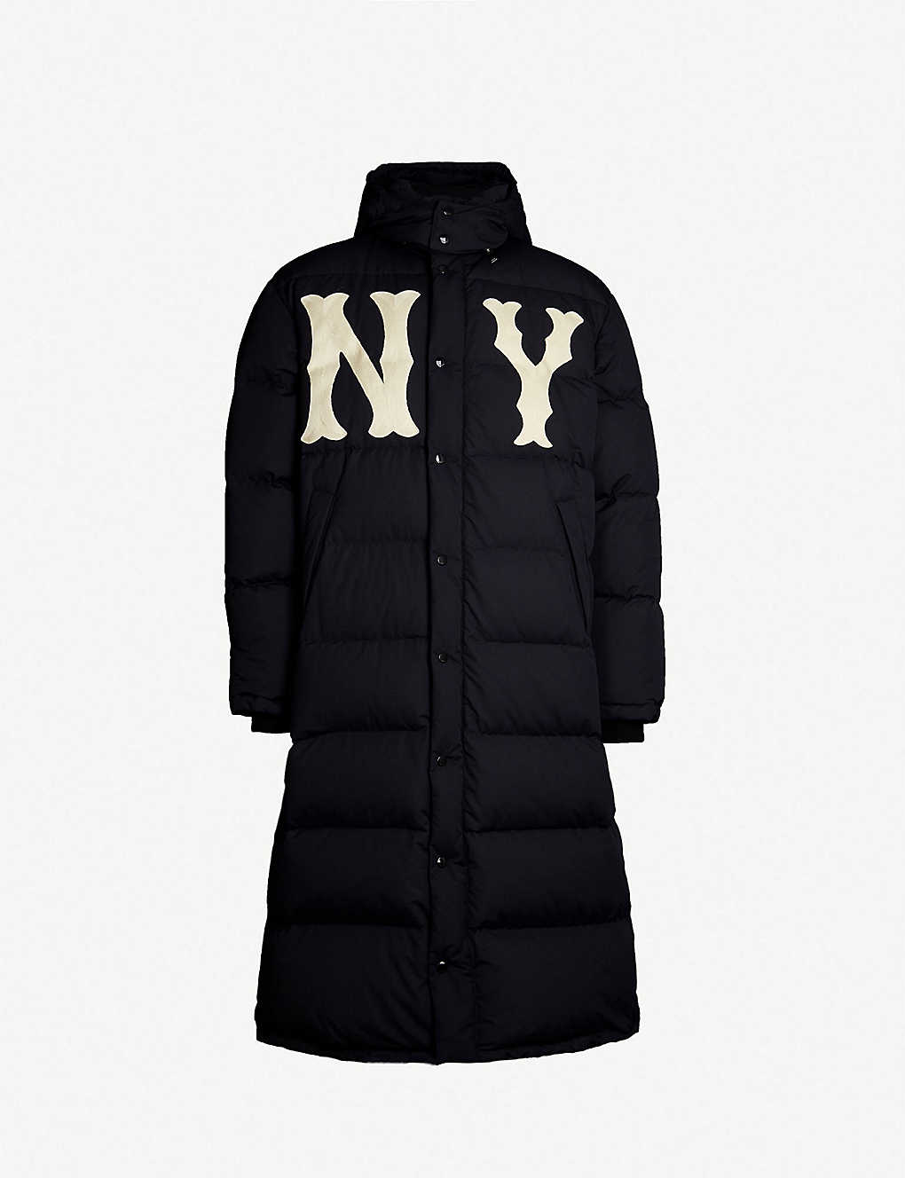 8d31d9eab GUCCI - NY Yankees™ patch quilted shell-down coat | Selfridges.com