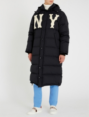 eee3cb4ded17d GUCCI - NY Yankees™ patch quilted shell-down coat
