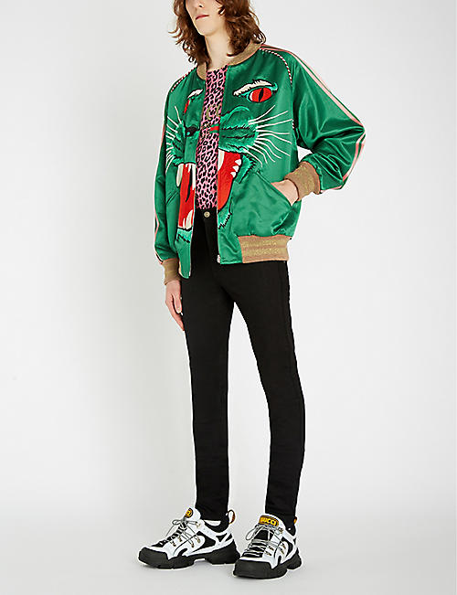 GUCCI Slim-fit super-skinny jeans