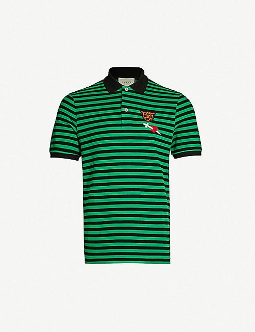 a914c2ca Gucci T-shirts - Polo Shirts & Sweatshirts | Selfridges