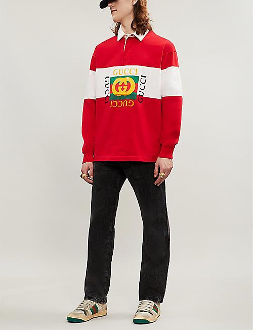 66848cfc8 Gucci T-shirts - Polo Shirts & Sweatshirts | Selfridges
