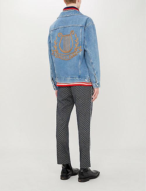 0fcd7ecdd Gucci Men's - T-shirts, Wallets, shoes & more | Selfridges