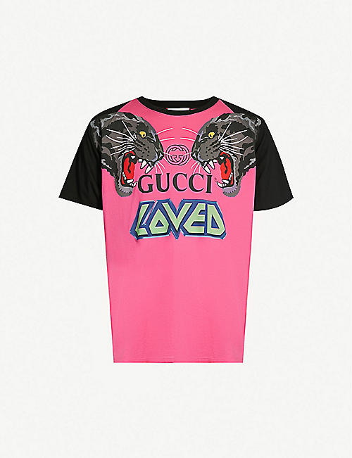 6eecccd7b977 T-Shirts - Tops & t-shirts - Clothing - Mens - Selfridges | Shop Online