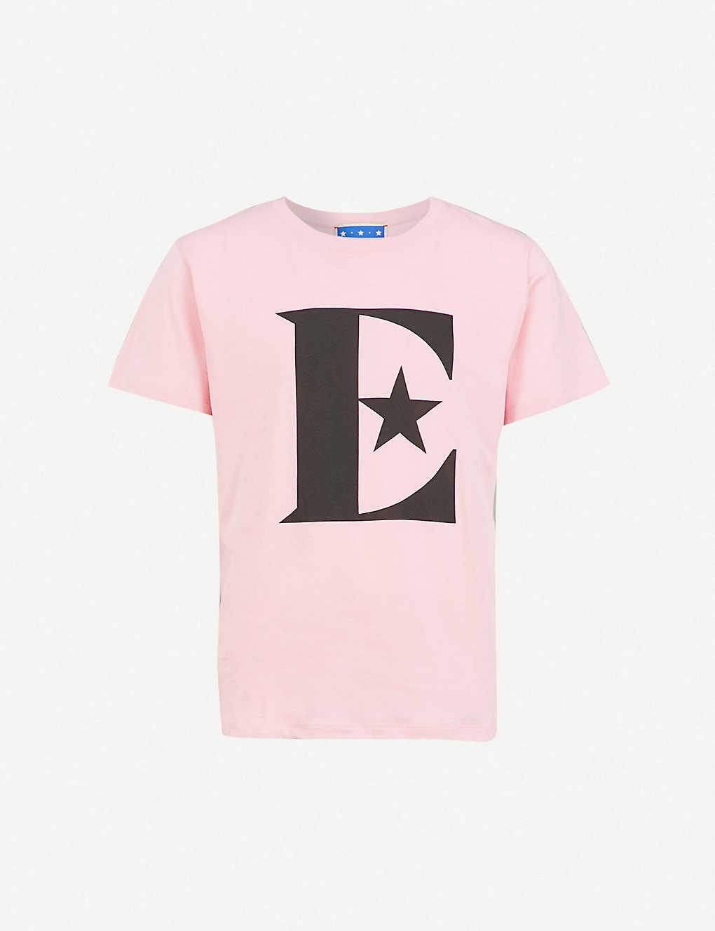 dbb69b1b87a1 GUCCI - Elton John cotton T-shirt   Selfridges.com