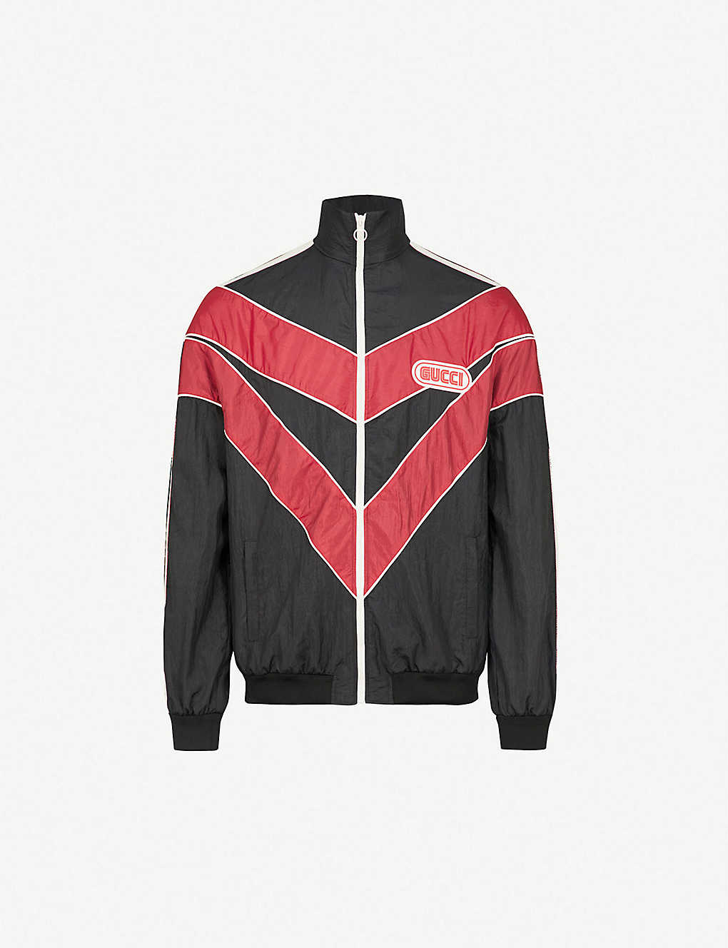 c42872311a09 GUCCI - Spiritismo sports shell jacket | Selfridges.com