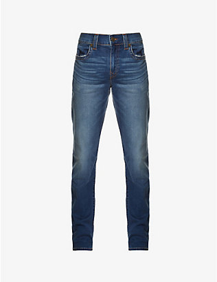 TRUE RELIGION: Geno slim-fit relaxed jeans