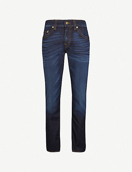 595864def6 TRUE RELIGION Rocco relaxed-fit skinny jeans