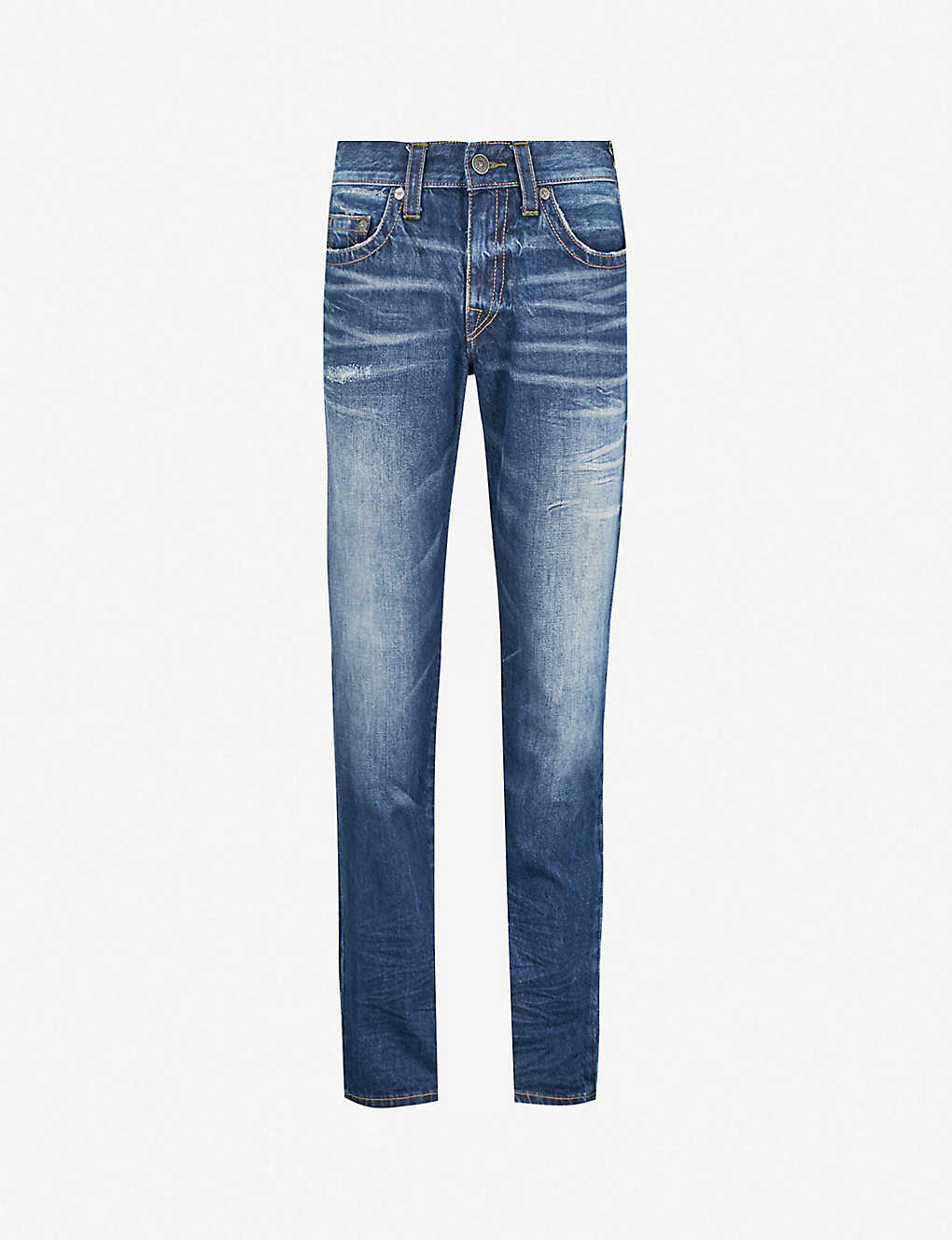 0a6670ac3 TRUE RELIGION - Geno No Flap relaxed slim-fit relaxed jeans ...