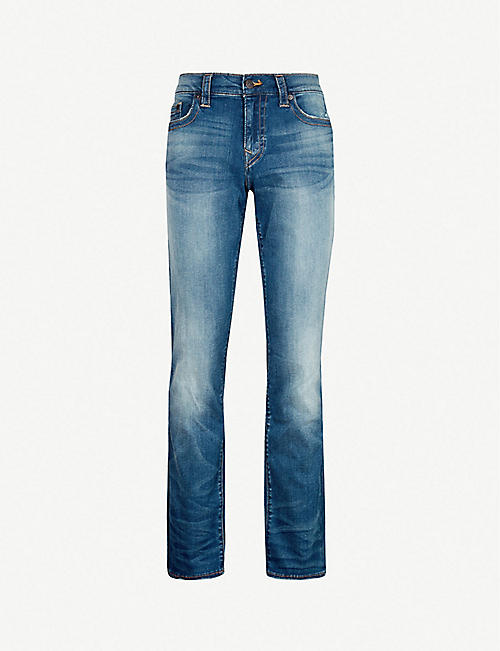 52e27900 TRUE RELIGION Ricky relaxed-fit straight jeans