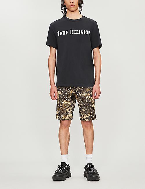 270a5c742 TRUE RELIGION Logo-print cotton-jersey T-shirt