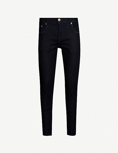 TRUE RELIGION Rocco relaxed-fit skinny jeans e551b7a142b