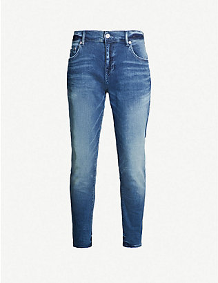TRUE RELIGION: Rocco slim-fit jeans