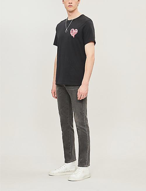 da52486a76ce0 TRUE RELIGION Heartbreaker graphic-print cotton-jersey T-shirt