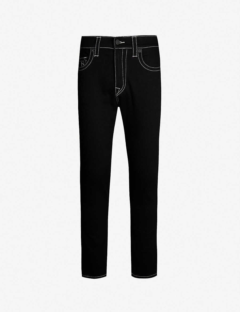 4ef305ccb Jack regular-fit skinny jeans - Midnight black ...