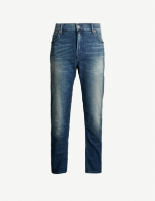 TRUE RELIGION Rocco ripped skinny jeans