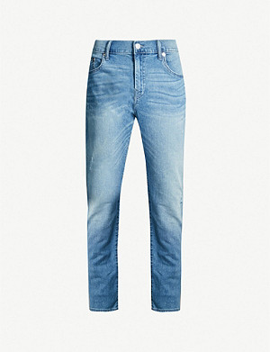 TRUE RELIGION Rocco faded skinny jeans