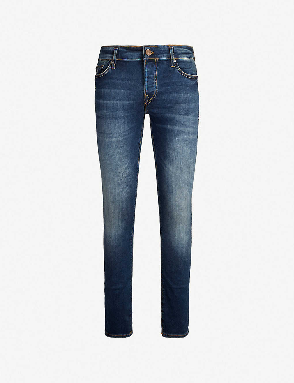 00344fe48 Tony slim-fit skinny jeans - Blue destroyed ...