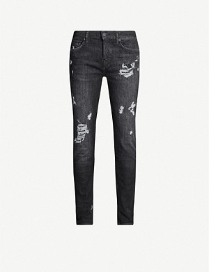 TRUE RELIGION Rocco slim-fit stretch-denim jeans