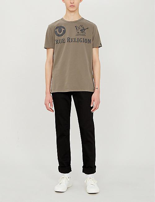 ac92f5ddd TRUE RELIGION Branded cotton-jersey T-shirt
