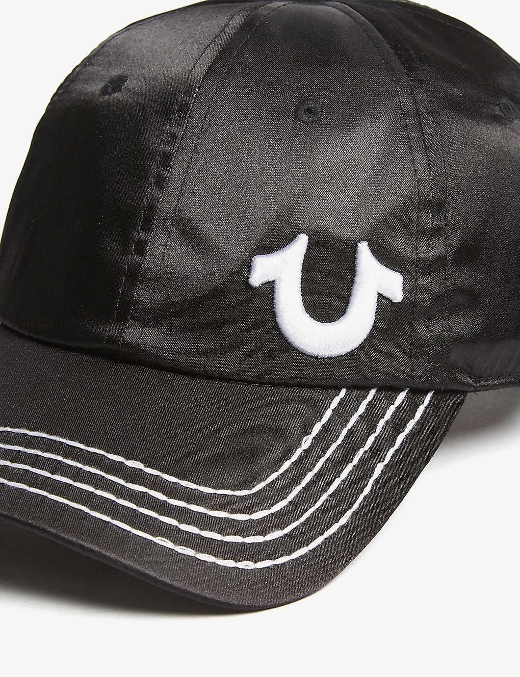 374b4e6d TRUE RELIGION - Logo satin strapback cap   Selfridges.com