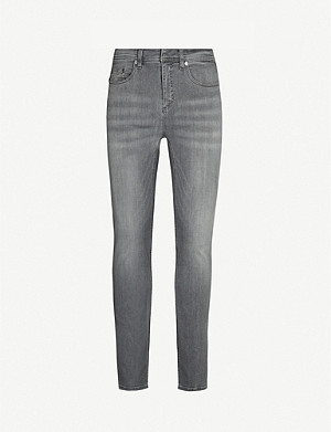 NEIL BARRETT Faded skinny jeans