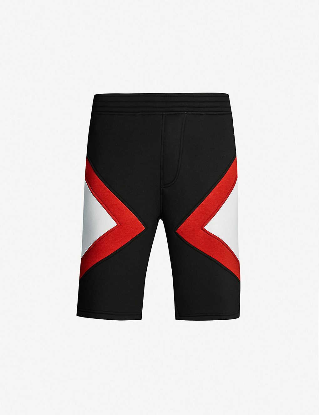 cd9fc699e3 Modernist printed jersey shorts