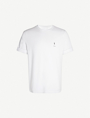 fcc6a1011b NEIL BARRETT - Flame Bolt cotton-jersey T-shirt   Selfridges.com