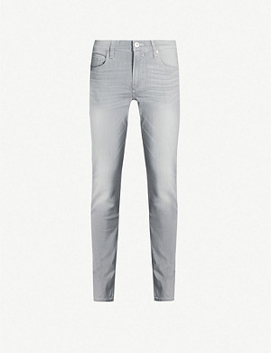 PAIGE Federal faded slim jeans