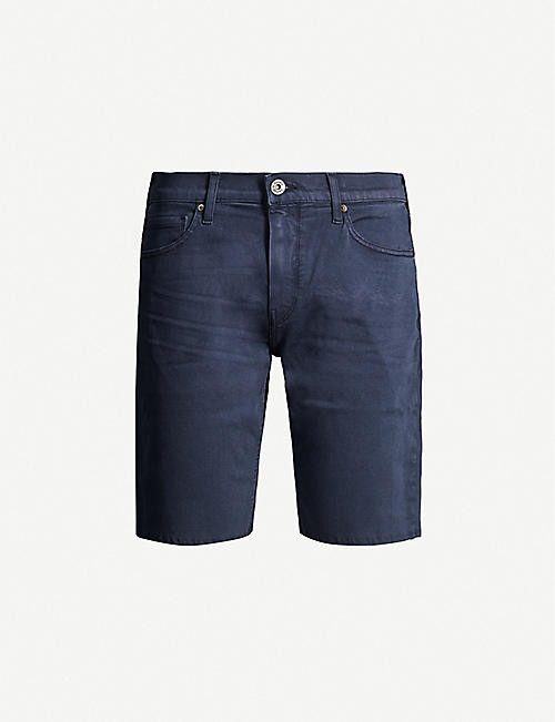 PAIGE Federal relaxed-fit denim shorts