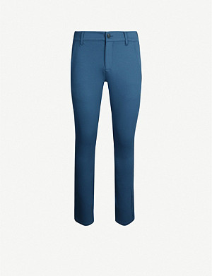 PAIGE Stafford slim-fit tapered stretch-jersey trousers
