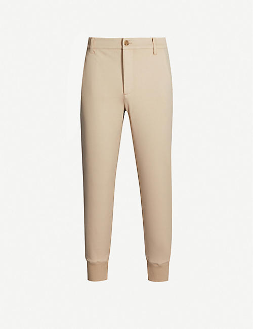 PAIGE Elmwood stretch-cotton jogging bottoms