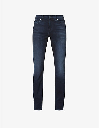 7 FOR ALL MANKIND: Ronnie Luxe Performance skinny-fit jeans