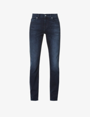 7 For All Mankind Denims RONNIE LUXE PERFORMANCE SKINNY-FIT JEANS
