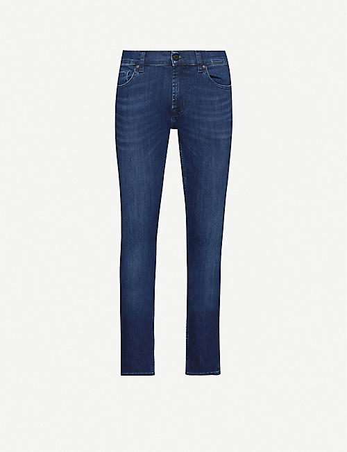 7 FOR ALL MANKIND: Ronnie Luxe Performance skinny jeans