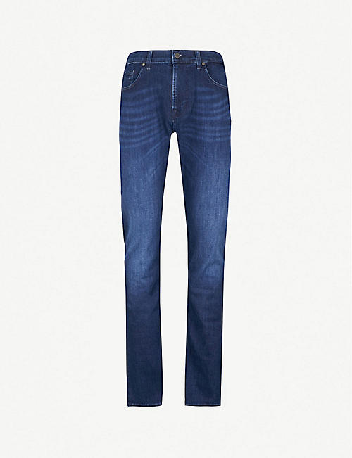 7 FOR ALL MANKIND Kayden Luxe Performance slim-fit straight jeans