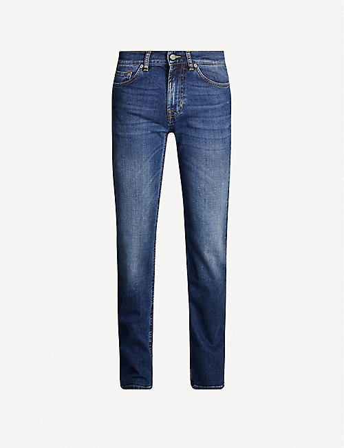 7 FOR ALL MANKIND Standard straight cashmere jeans