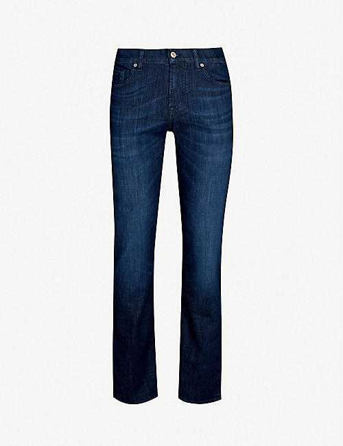 7 FOR ALL MANKIND Standard Weightless regular-fit straight jeans e0750182b
