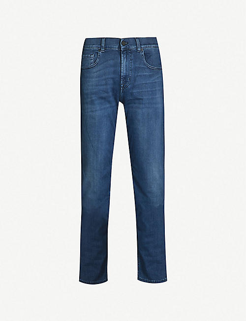 7 FOR ALL MANKIND:Slimmy Luxe Performance Plus 修身版型牛仔裤
